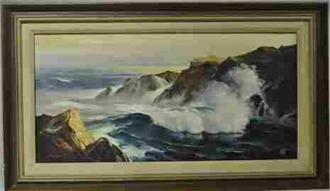 Original Seascape Painting By Mowe