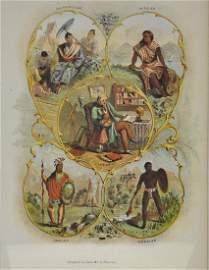 "Antique ""Trivialized"" Ethnographic Print"