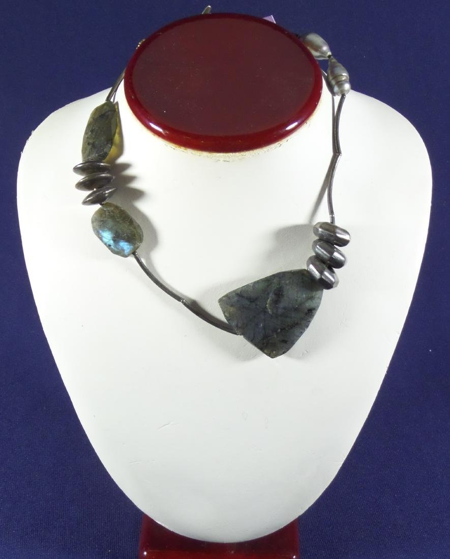 Artisan Boutique Labradorite & Sterling Necklace