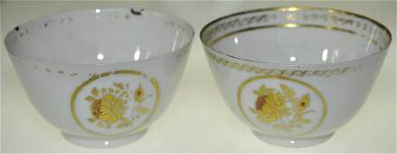 A Pair Of 18th C. Chinese Export Teacups