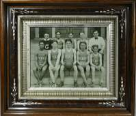 Framed Sporting Photograph