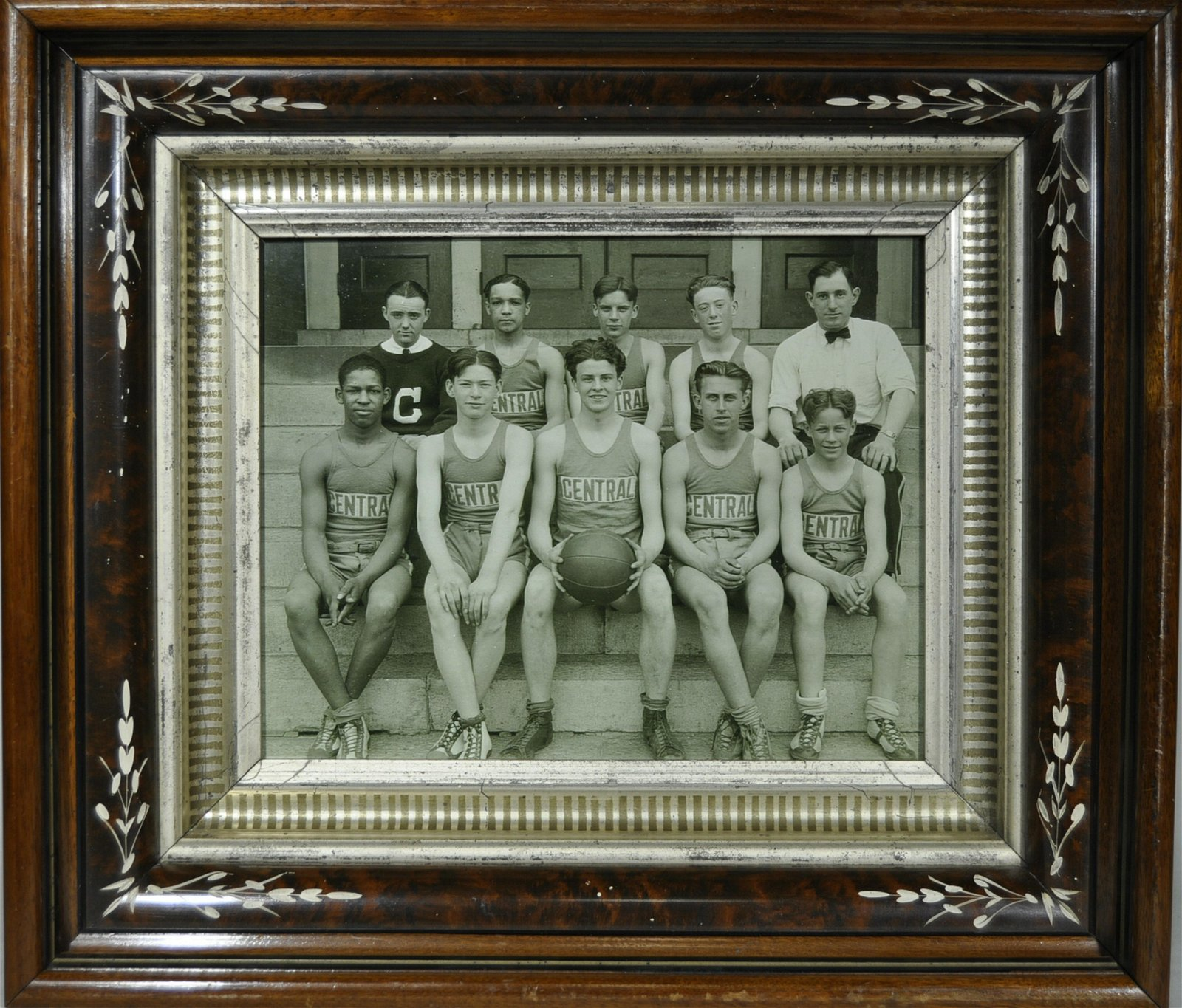 Framed Sporting Photograph