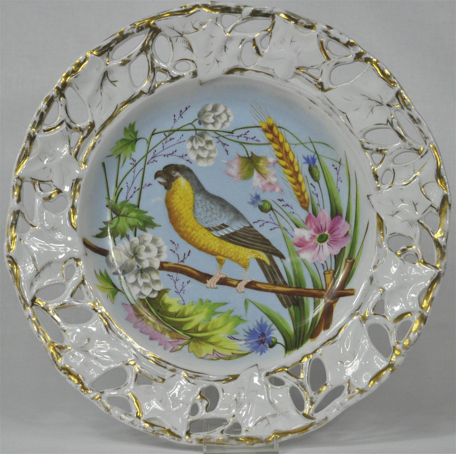 Bruder Schwalb Carlsbad Songbird Cabinet Plate