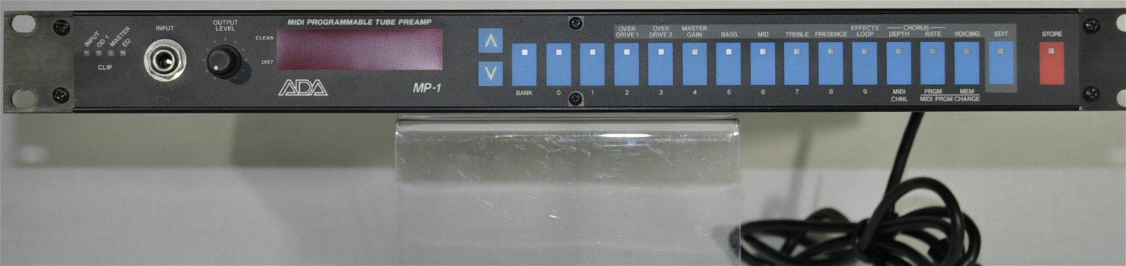 ADA MIDI Programmable Tube Preamp