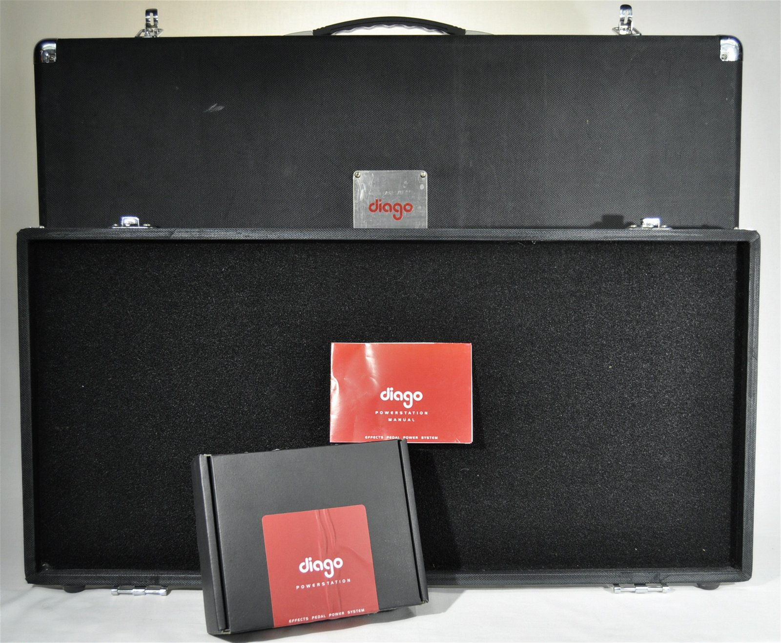 Diago Pedal Board Hardcase W/ Power Supply