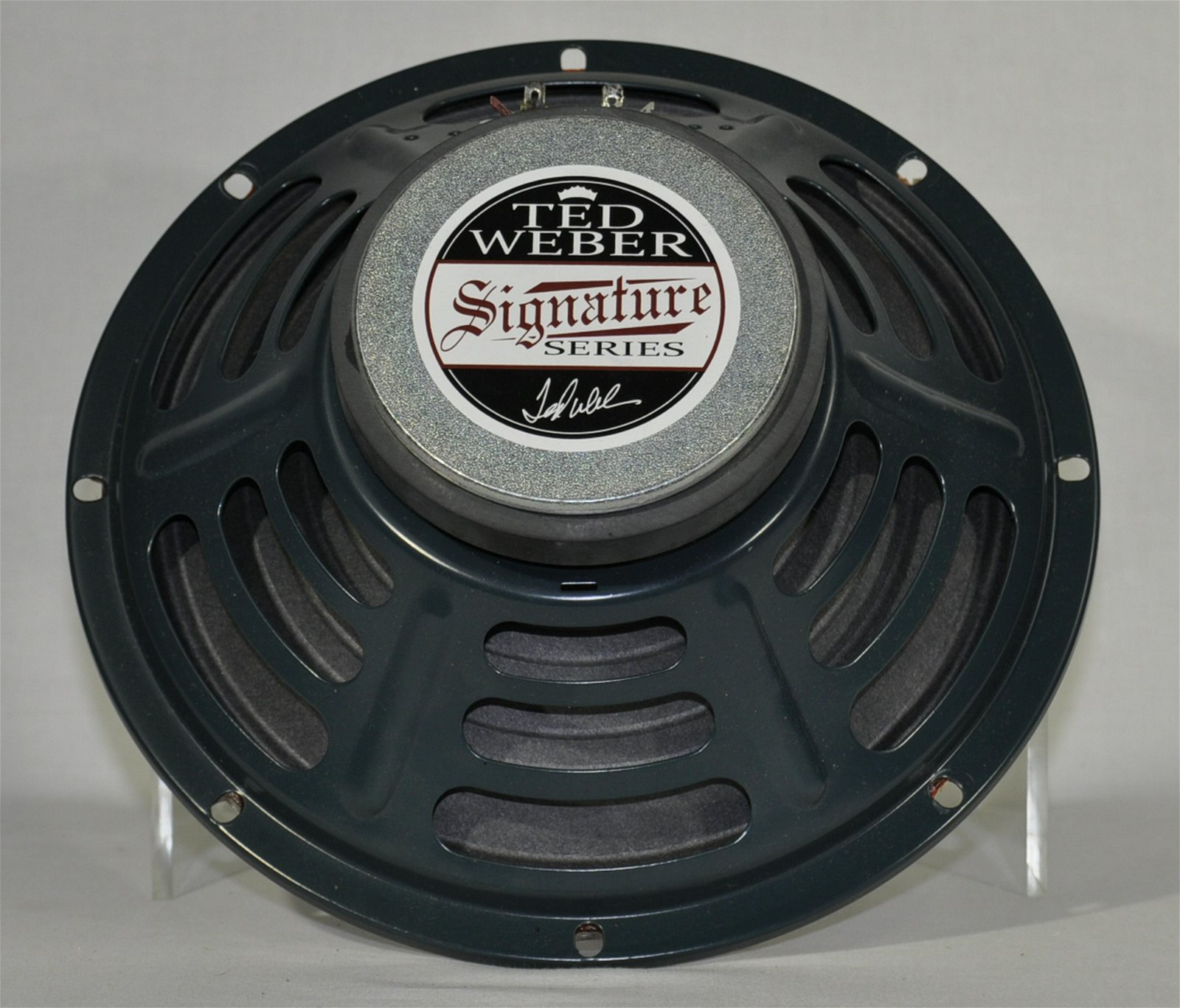 "2) Ted Weber Signature Series 10"" Amp Speakers"