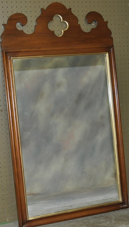 American Gothic Walnut Mirror