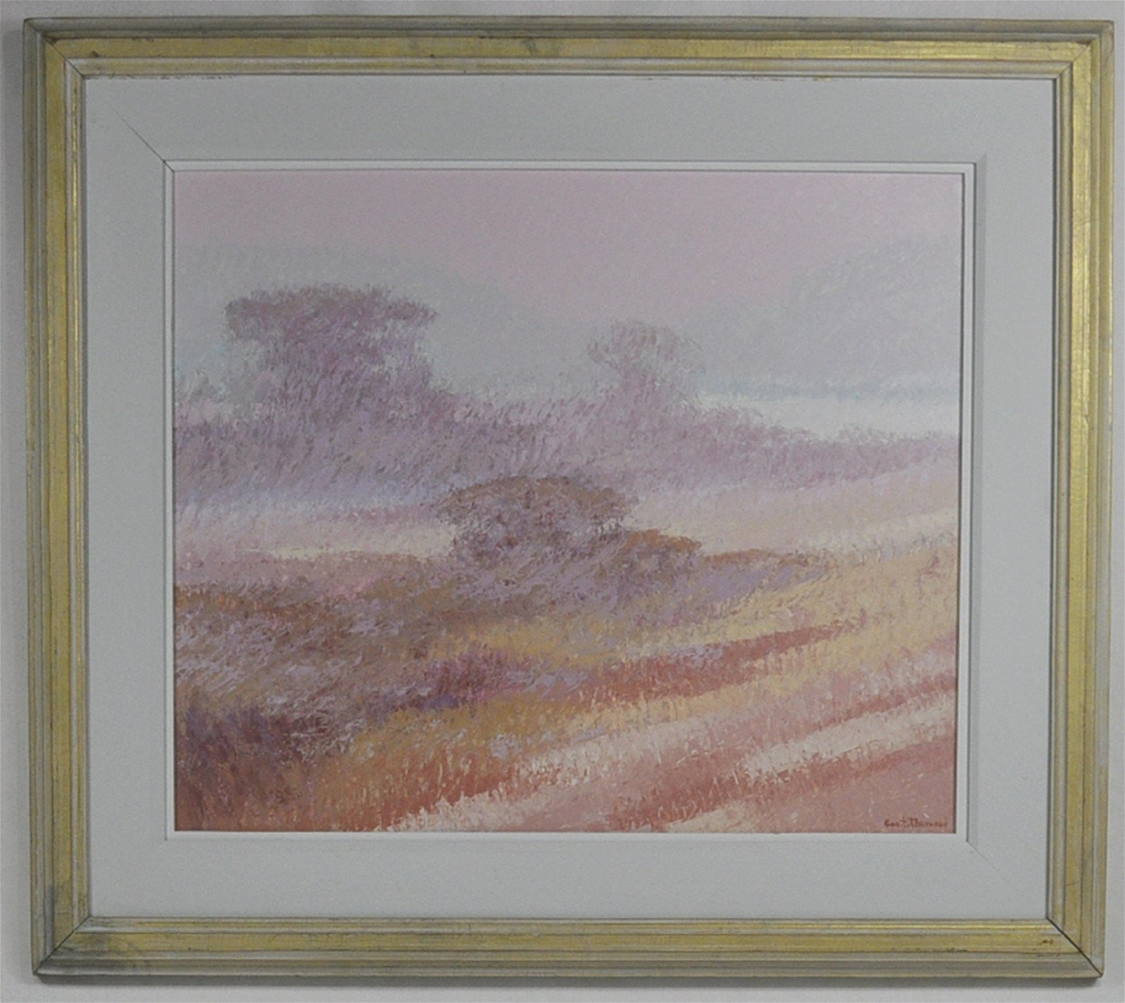 """George """"Tommy"""" Thurmond """"Afternoon Fog"""" Painting"""