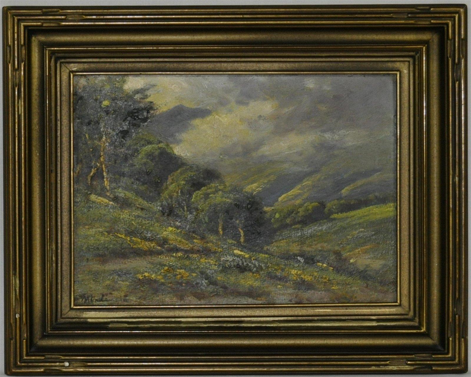 Manuel Valencia California Landscape