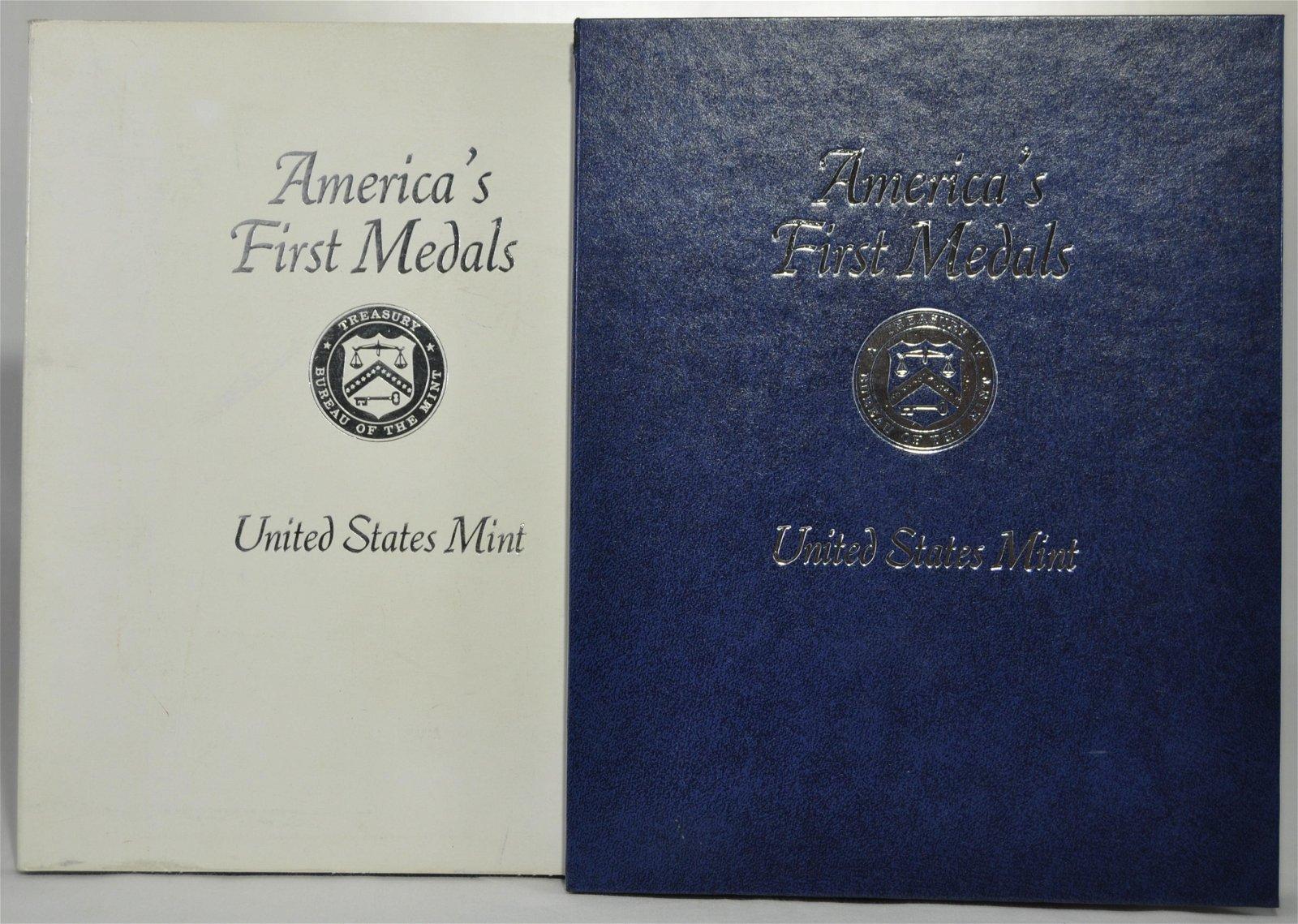 "U. S. Mint ""America's First Medals"""
