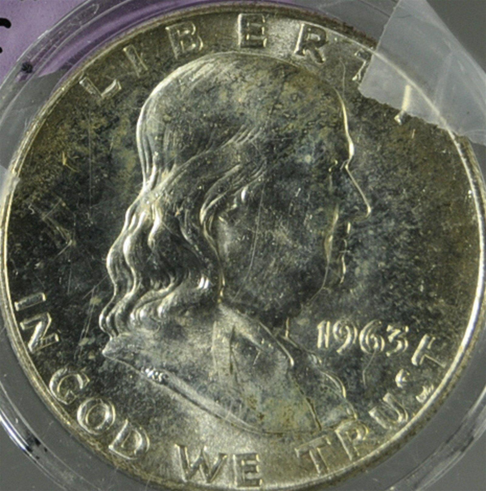 1963 D Franklin Silver Half