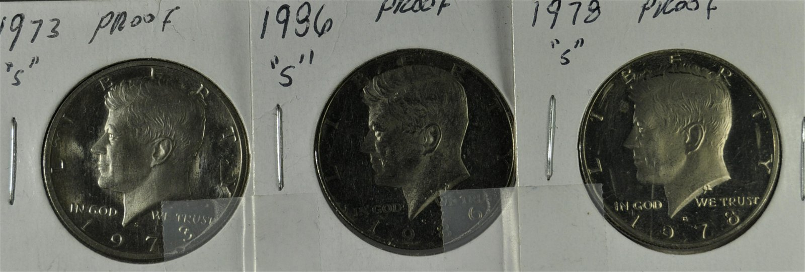 3 Kennedy Proof Half