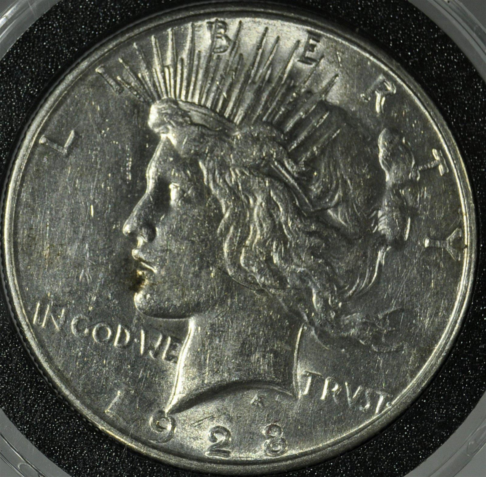 """1928 """"S"""" Peace Dollar"""