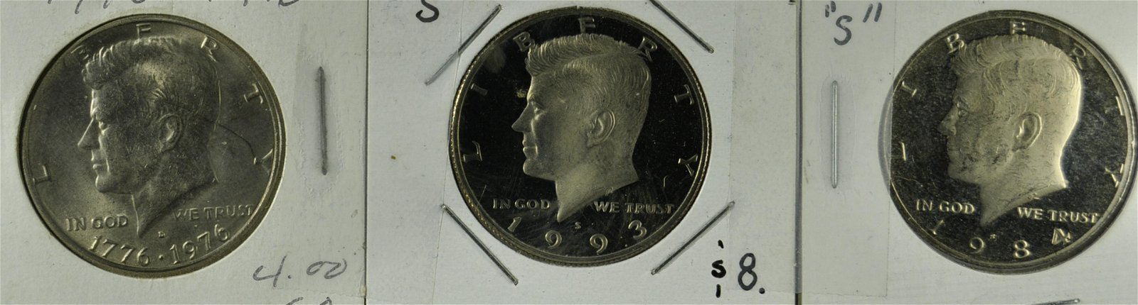 2 Kennedy Proofs and 1 MS