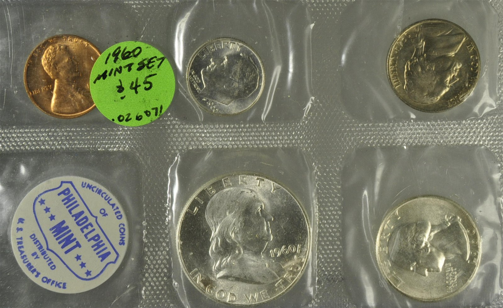 1960 Franklin Mint Set