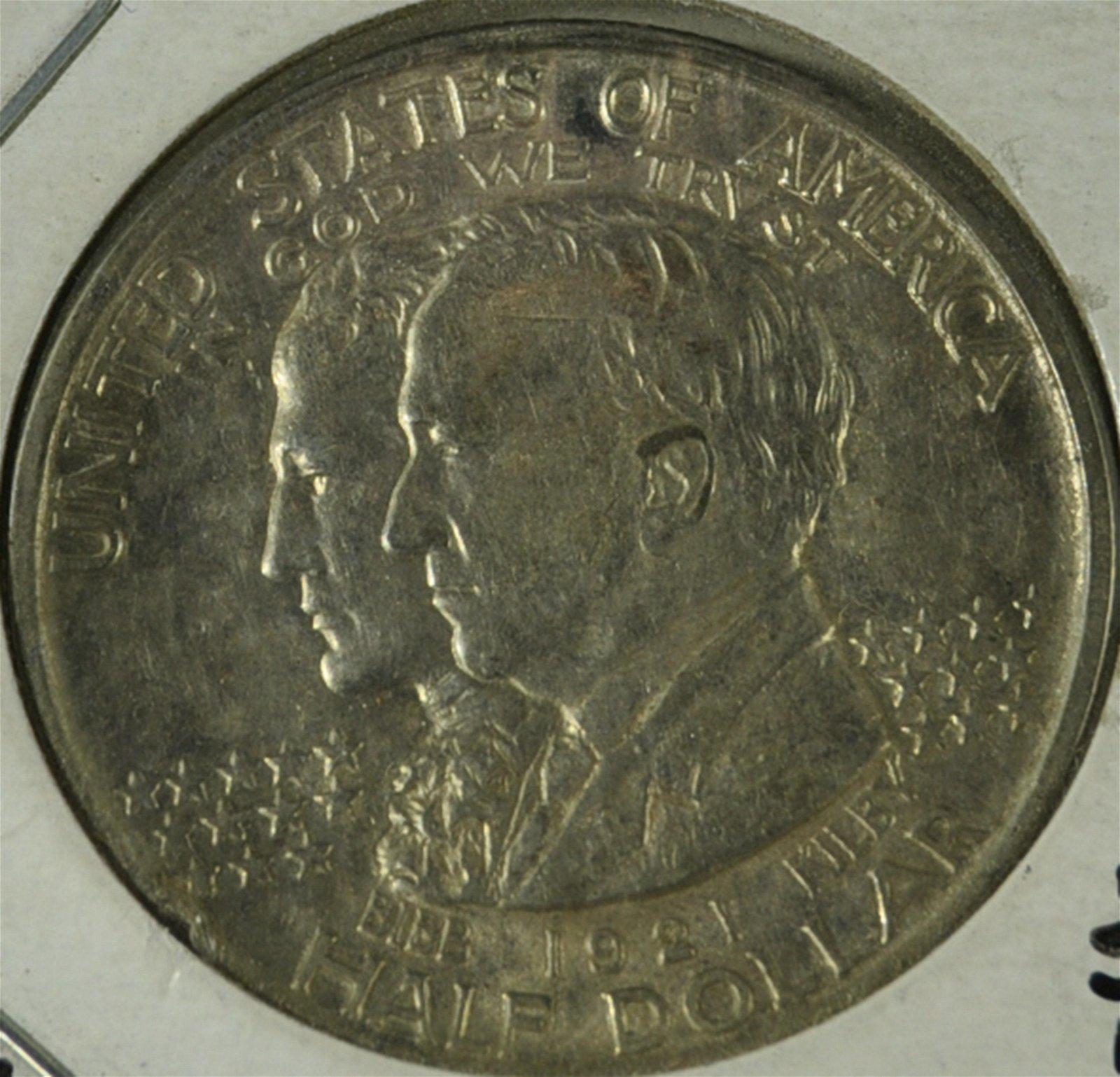 1921 Alabama Centennial Half