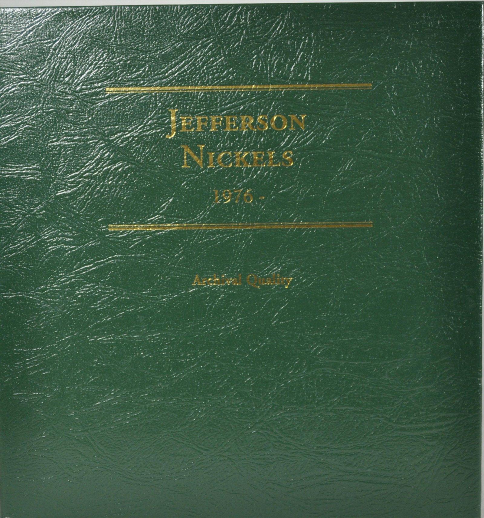 99) Jefferson Nickels 1976-2006 Unc / Ms / Proof
