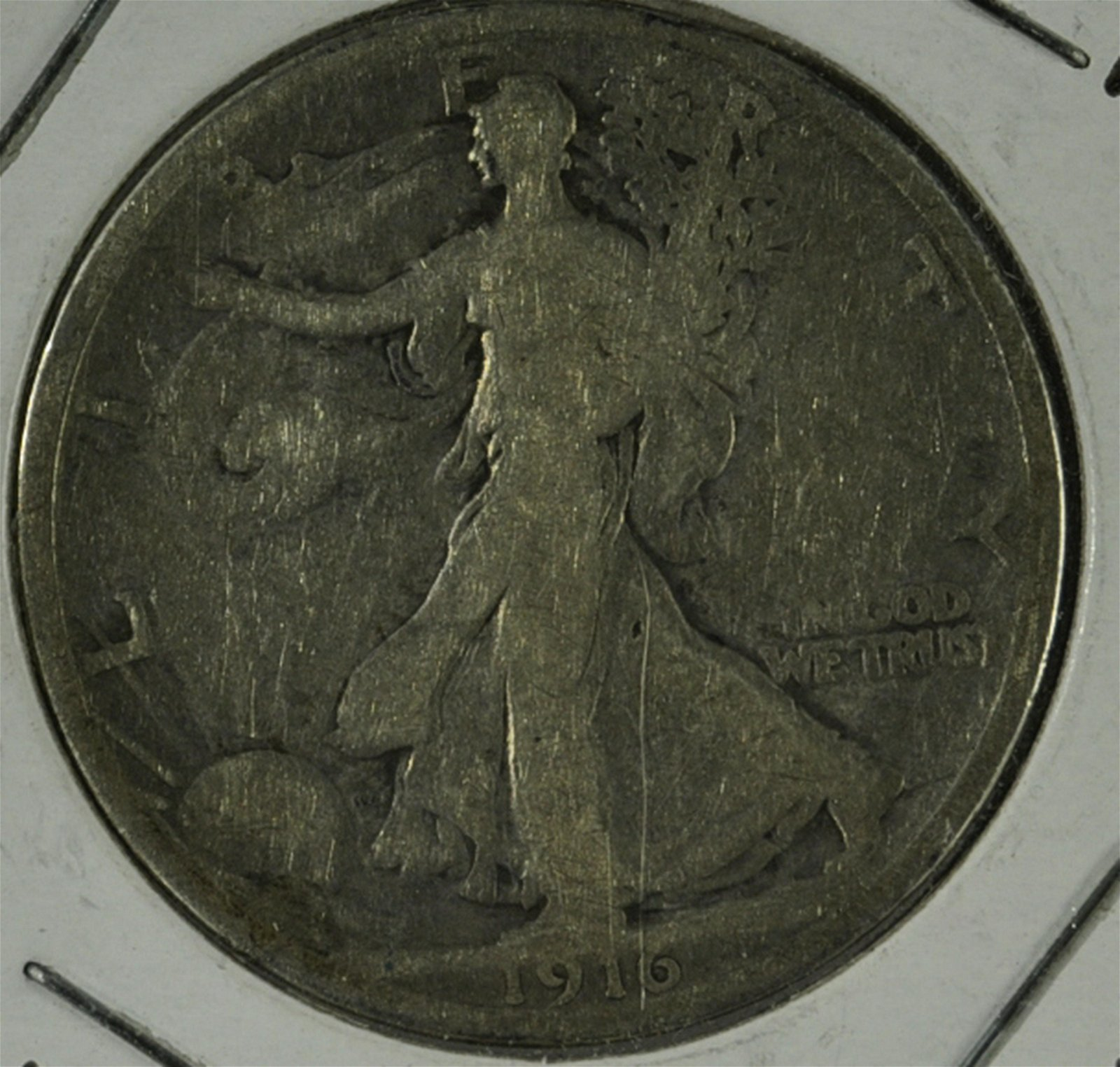 "1916 Liberty Walking Half ""Key Date"""