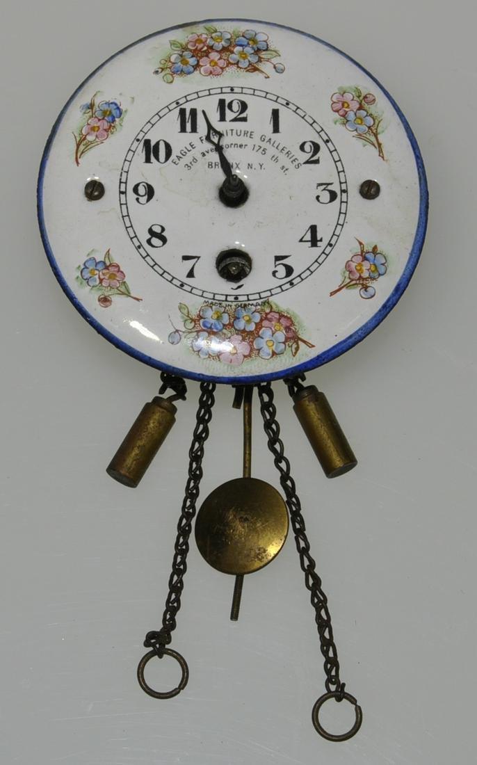 Miniature Advertising wall Clock