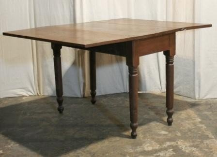 7923: Country Drop-Leaf Table