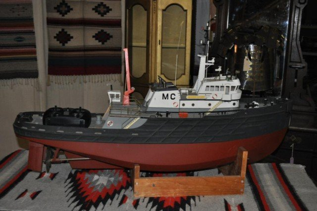 19: Handcrafted RC Tugboat
