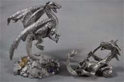 239 Pewter Fantasy Collection 2 Piece