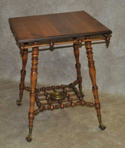 8: Stick and Ball Parlor Table