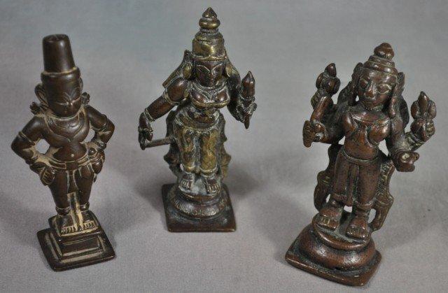 1018: Antique Hindu Devotional Bronzes, Laxmi Shiva