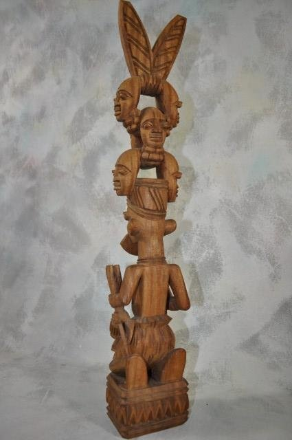 1029: J. Debo Abegunde Yoruba Hunter Carving
