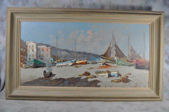 1033: Philip Salvato Shipyard Painting