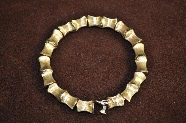10: 18kt Yellow Gold Bracelet