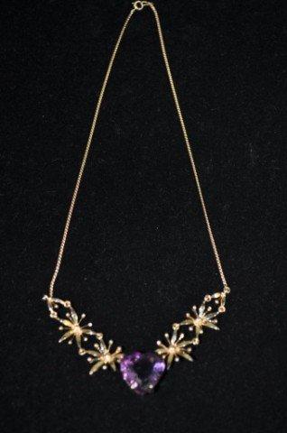 11: Tiffany and Company Amethyst Necklace