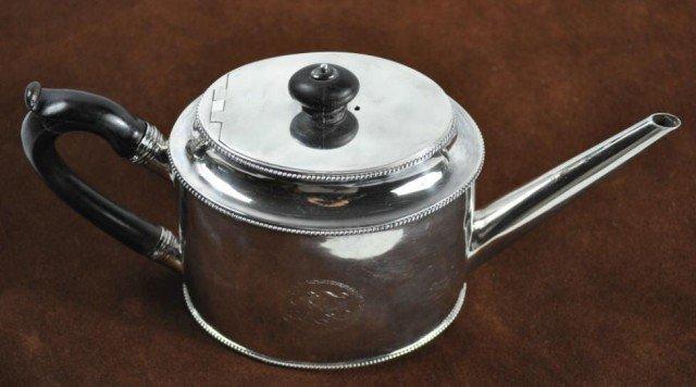 13: English Sterling Tea Pot