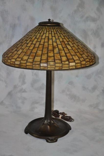 233: Tiffany Studios Lamp