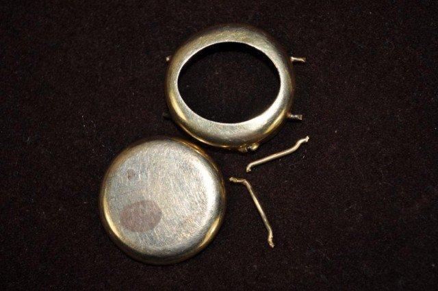 6: Gold Scrap Stamped 18kt, 4pcs