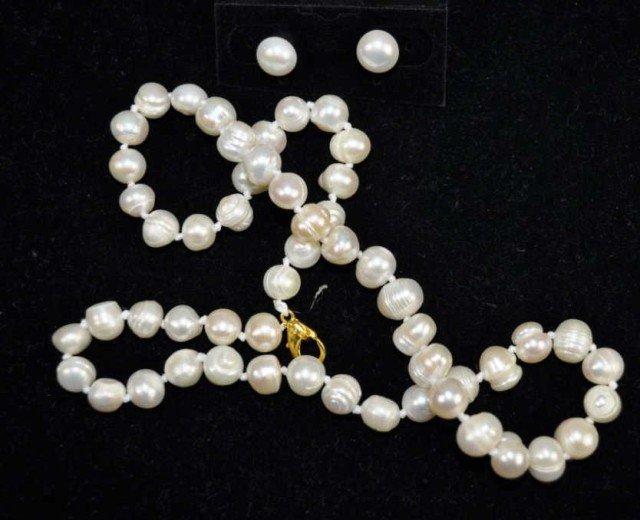 7: Pearl Necklace Suite, 3pcs