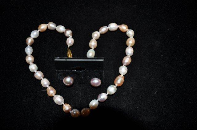 8: Pearl Necklace Suite, 3pcs