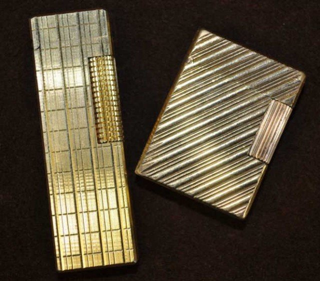 91: S.T. Dupont and Colibri Cigarette Lighters, 2pcs