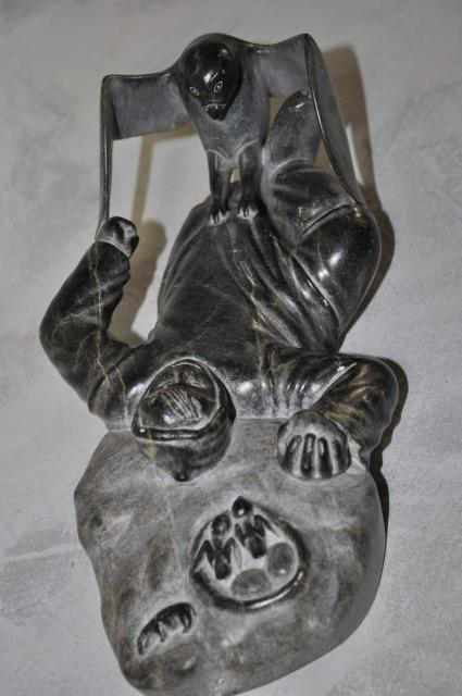 199: Inuit Mythological Carving