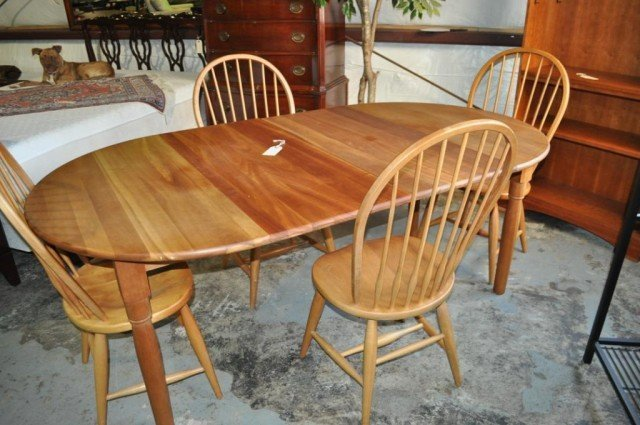 Asher Benjamin and Co Cherry Dining Set