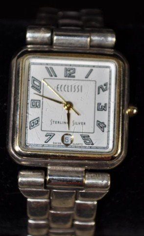Ecclissi Ladies Sterling Silver Watch