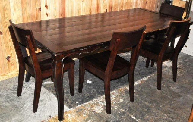 Dining Table & Chairs, 5pcs