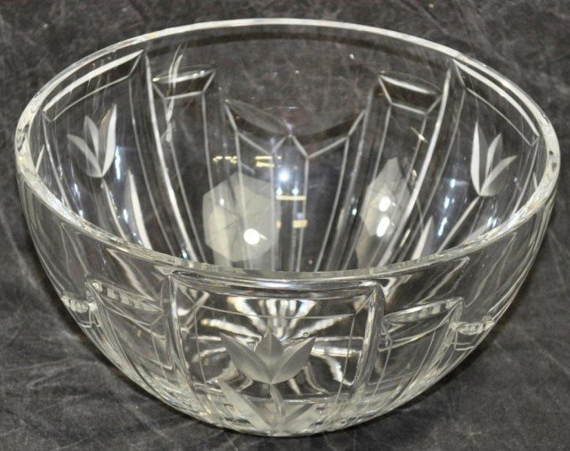 Crystal Center Bowl