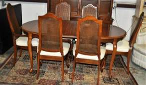 French Country Dining Suite 8pcs