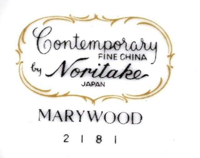 "Noritake ""Marywood"" Service for 12, 89pcs - 2"