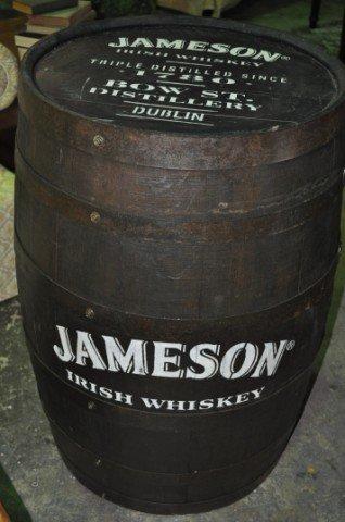 Jameson Whiskey Barrel