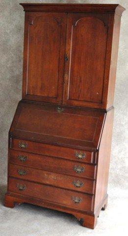 Walnut Slant Lid Desk Slant Top Secretary Desk Www