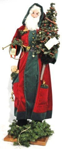 Hen House Father Christmas Large Figure