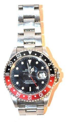 Man's Rolex GMT Master II