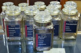 Tobacco Storage Jars 10 Pieces